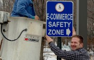 Vic's Corner: Placement of Macedonia Safe Zone Signs