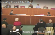 Macedonia Council Meeting 4.14.16 (Complete Video)