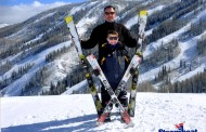 Parker Ward earned National Title in ski racing at Nastar Nationals in Steamboat Springs, Colorado