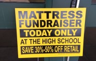 Mattress Sale Fundraiser Today