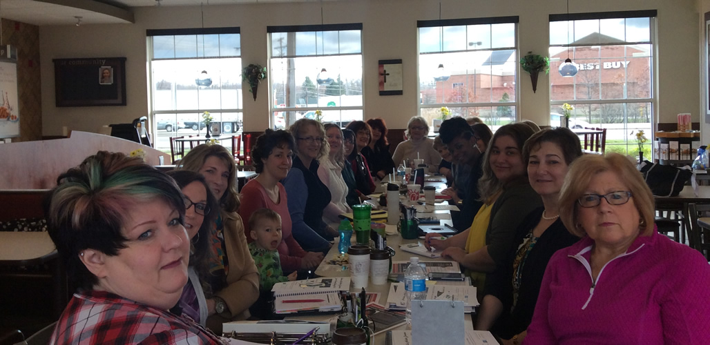Strong women who are strong leaders - growing; supporting and giving back - the women of the Nordonia Hills Chamber of Commerce Women in Business group