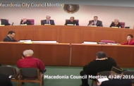 Macedonia Council Meeting 4.28.16 (Complete Video)