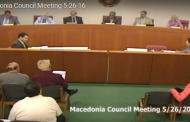 Macedonia Council Meeting 5.26.16 (Complete Video)