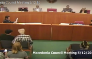 Macedonia Council Meeting 5.12.16 (Complete Video)