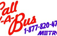 Schedule a Bus for Pickup