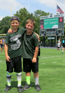 Nordonia's 3 day football camp finished up 7-8-16 and had a great turnout of kids!  Register for football by July 15th at ntyf.org