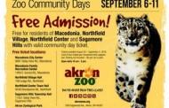 Akron Zoo Community Days