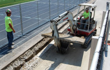 Vic's Corner: Boliantz Stadium Repair Underway!