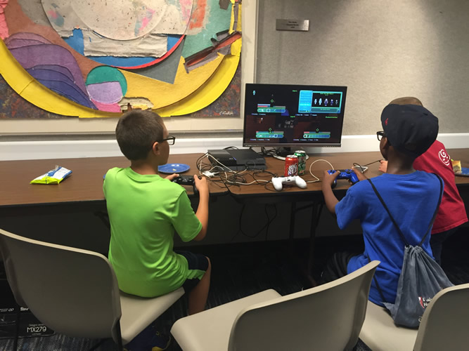 Games Done Legit (GDL) visits Nordonia Hills Library