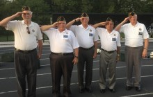 Vic's Corner: Recognizing Veterans and Law Enforcement before Football Game