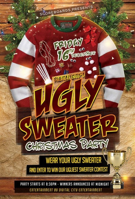 2d5dffbad Ugly Christmas sweater party