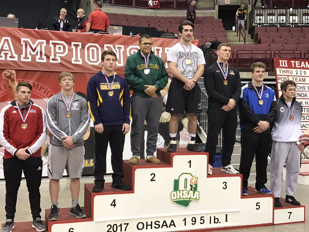 The Champ returns home to Nordonia - Congrats Anthony Perrine!