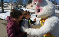 Easter Bunny Visits Northfield Village by Fire Truck (PHOTO GALLERY)