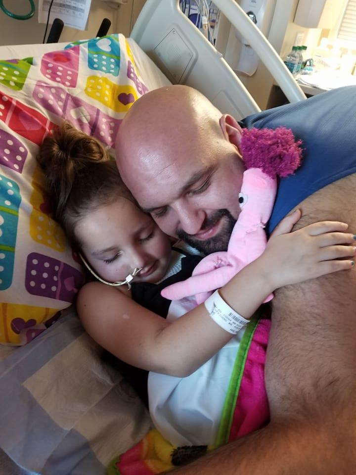 Tessa Update: Bonding with dad