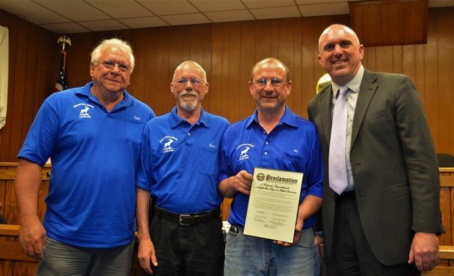 Vic's Corner: Northfield Moose Lodge Celebrates 50 year Anniversary receiving Proclamation
