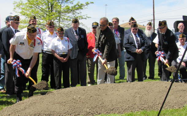 The Groundbreaking of The Veterans Memorial Park - An Honorable Ceremony