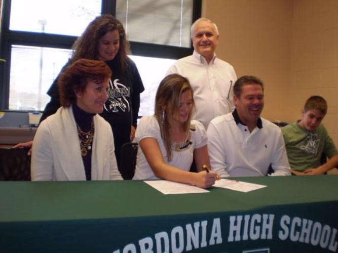 Danielle Zuercher signed to play basketball at Armstrong Atlantic College in Savannah, Georgia. Gary Tipton, who had coached in Cormell's system since 2003, took over the program in 2010. Coach Cormell coached Danielle Zuercher during her Freshmen-Junior year.