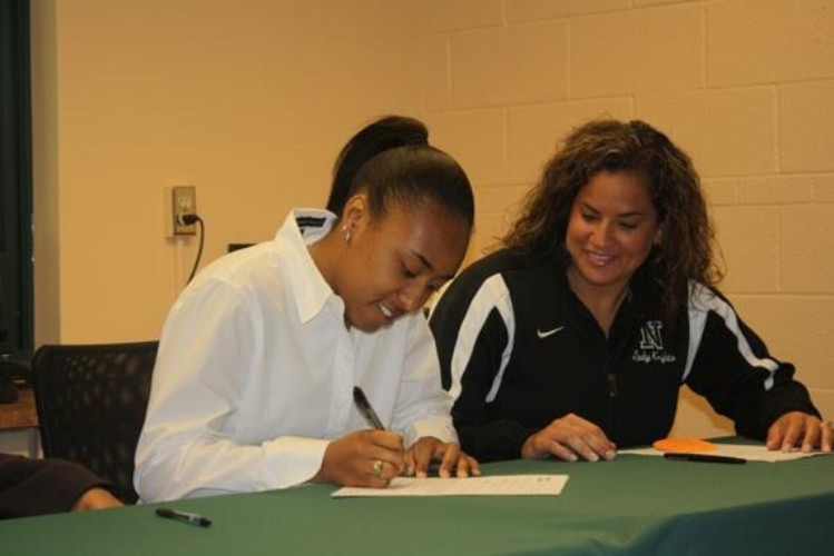 Mariah White signed to play college basketball at Barton College in North Carolina