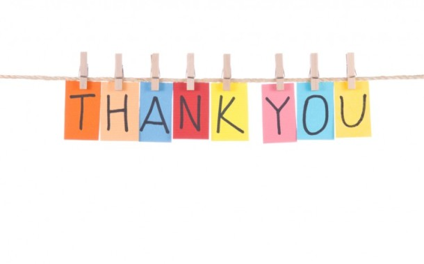 Thank you from Julie D'Aloiso