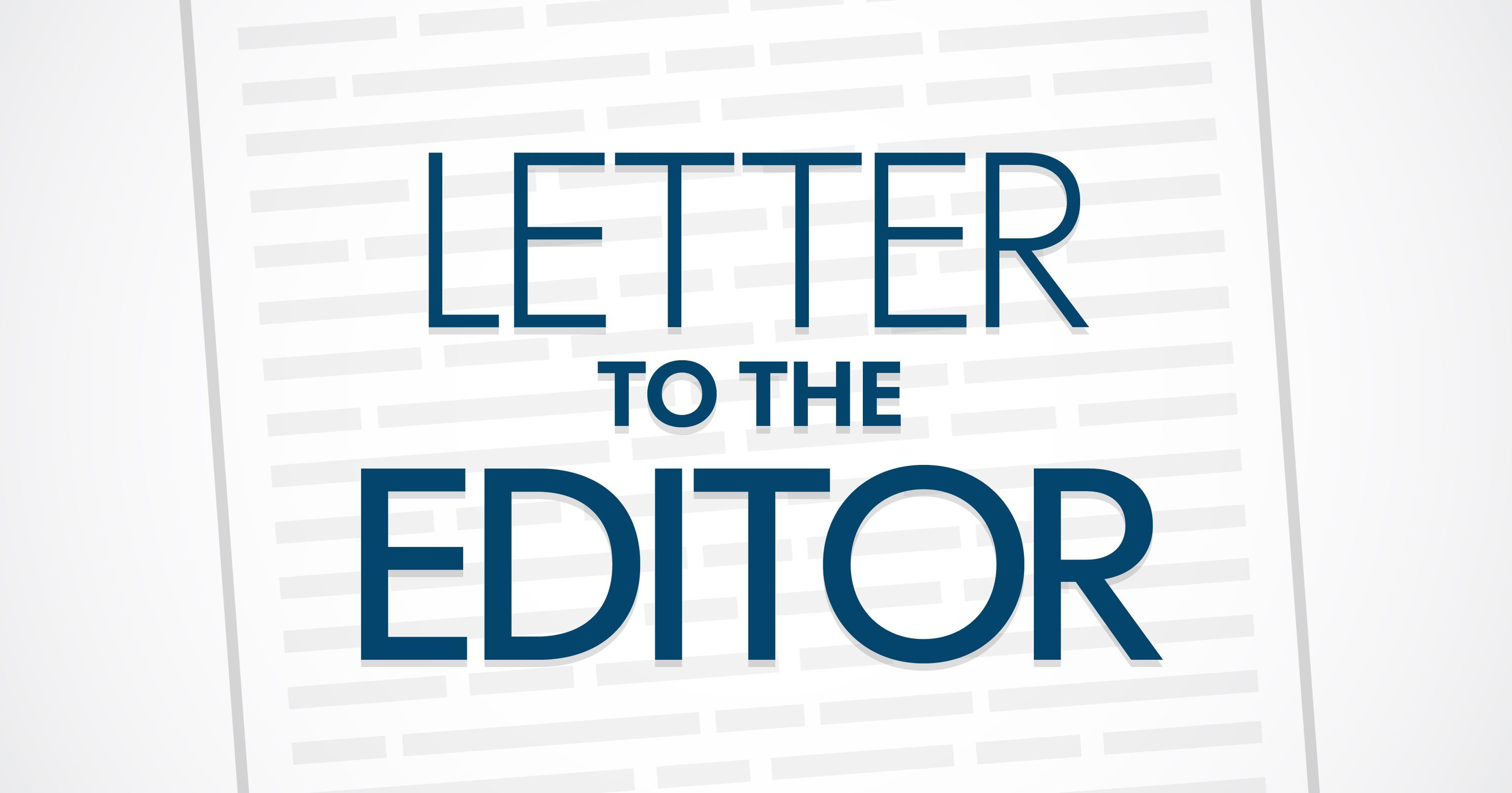 Letter to the Editor: From Mike and Michelle DeBrouse