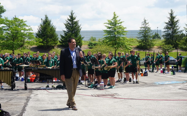 Nordonia High School Band News: Community Partnership in Action