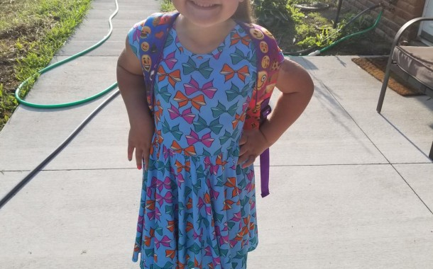 Tessa Update: 2nd Day of 1st Grade - So this morning went much better than yesterday!!