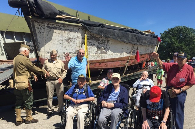 Four WWII veterans, and six Korean war veterans journeyed from Vista Springs, Macedonia to Conneaut, Ohio for a day filled with historical amazement!