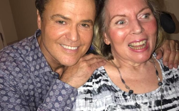 Donny Osmond reunites with local fan