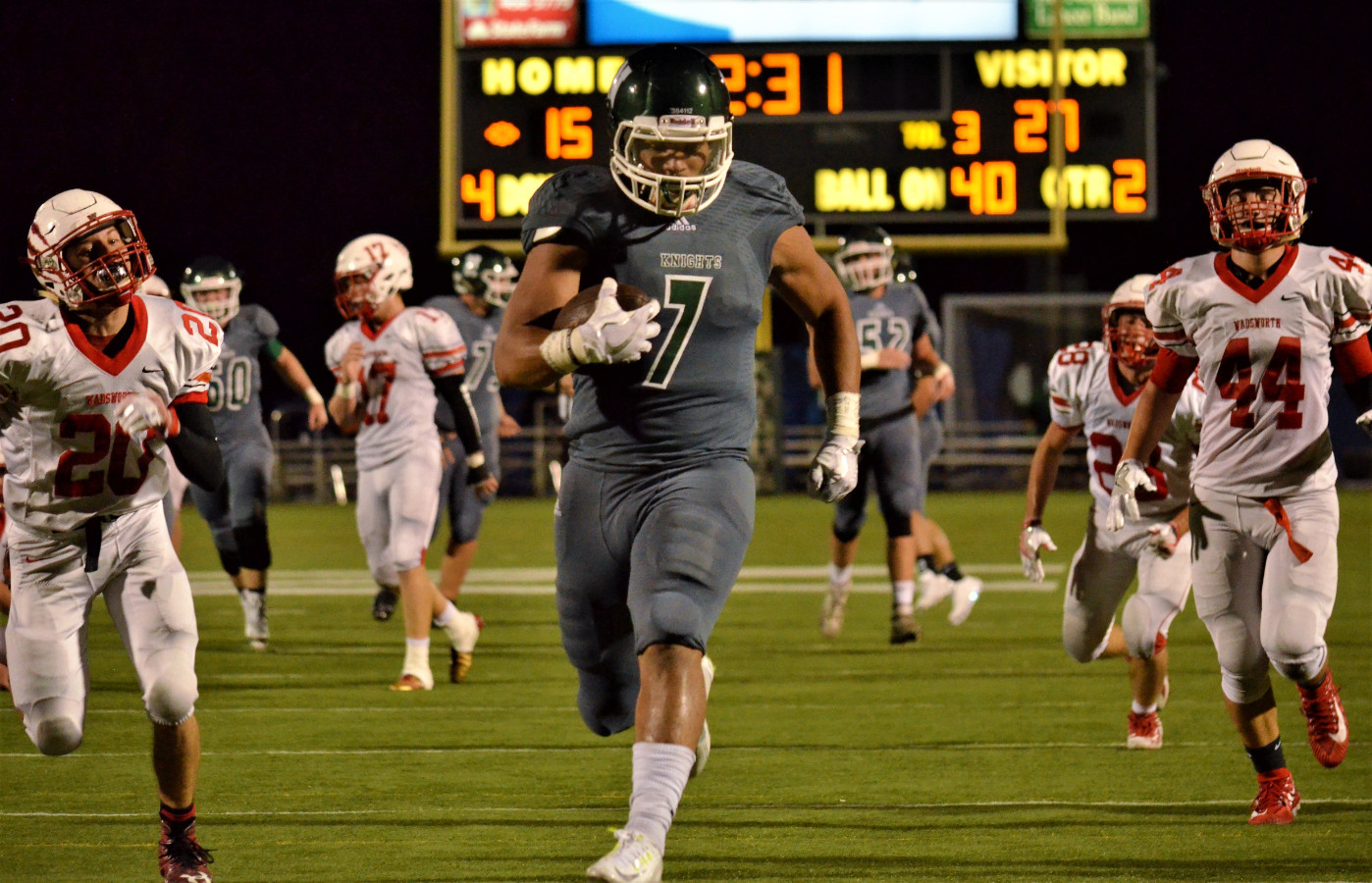 Vic's Corner: Nordonia gets Mauled by Wadsworth 57-29