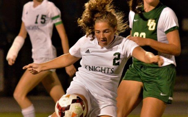 Vic's Corner: Nordonia Girls Soccer - Defense Rules in 1-1 Tie