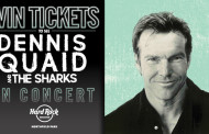 HARD ROCK ROCKSINO® SEPTEMBER – DENNIS QUAID AND THE SHARKS TICKET GIVEAWAY