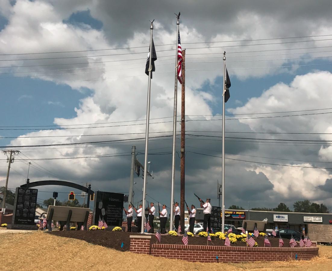 Veterans Memorial Park Dedication 9-16-17