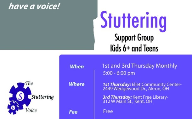 Stuttering Support Group Kids 6+ and Teens
