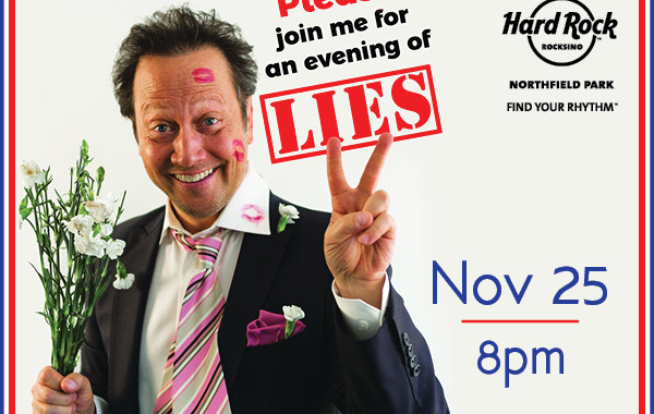 Laugh the Night Away with Comedian Rob Schneider at the Rocksino Nov. 25