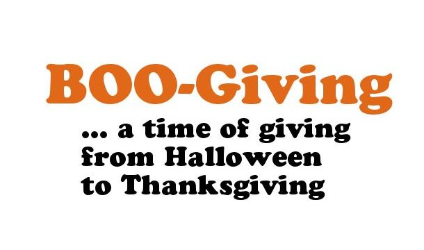 Enter to WIN our BOO-Giving Contest!  - WEEK 2