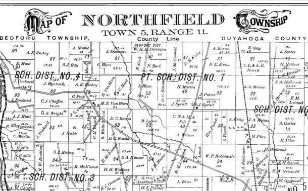Blast From The Past: The Division of Olde Northfield into the Four Communities