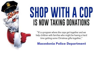 Macedonia Shop With a Cop Is Now Taking Donations
