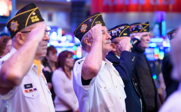 Hard Rock Rocksino's Veterans Day Celebration 2018