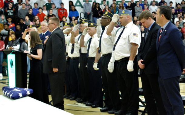 Vic's Corner: Nordonia High School Veteran's Day Celebration/Ceremony.