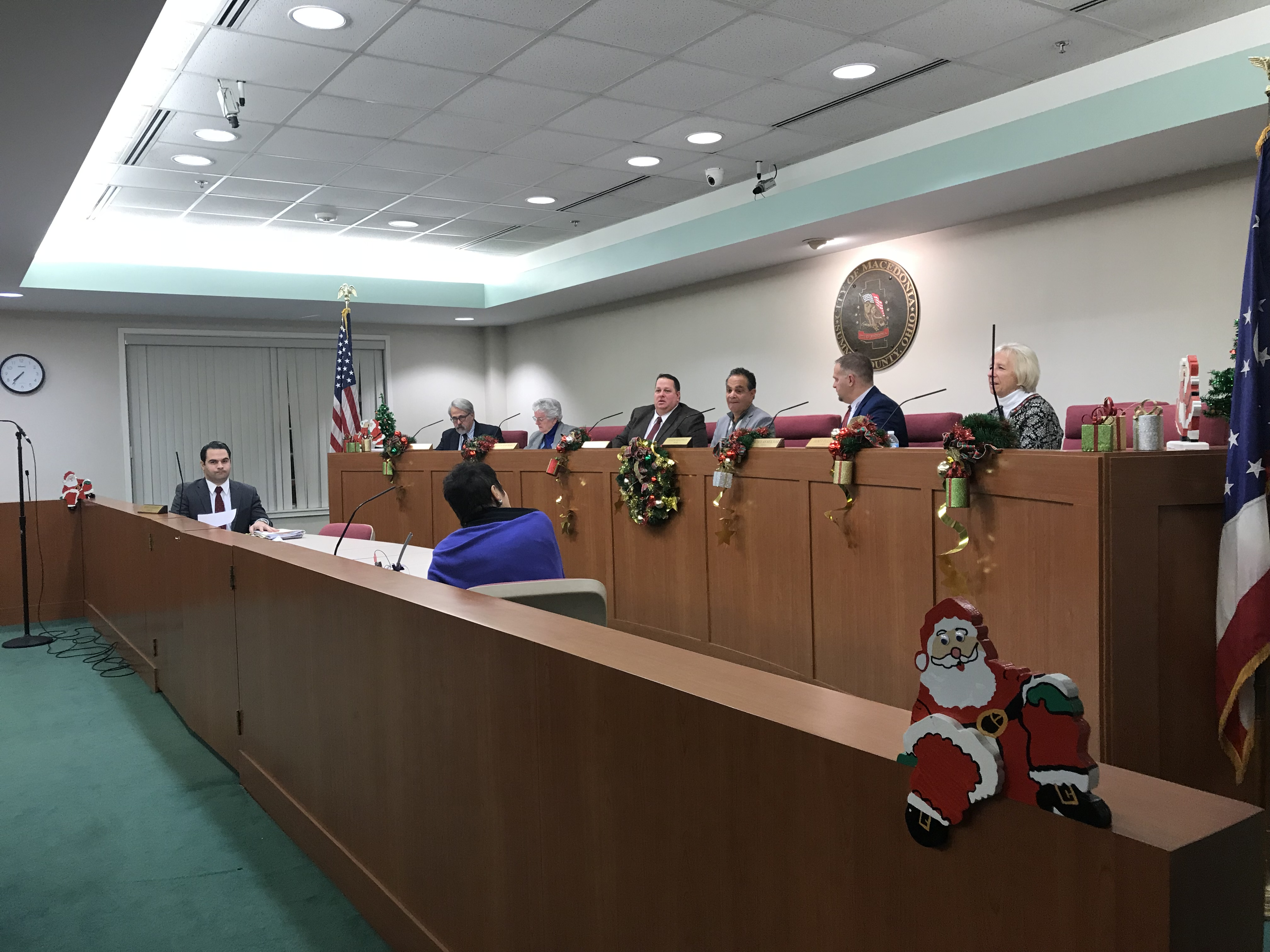 Vic's Corner: Macedonia Council Meeting Report 12-14-17