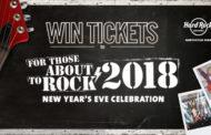 2018 NEW YEAR'S EVE CELEBRATION - HARD ROCK ROCKSINO CONTEST!