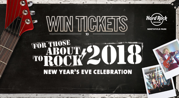 DECEMBER NORDONIA HILLS – 2018 NEW YEAR'S EVE CELEBRATION TICKET GIVEAWAY