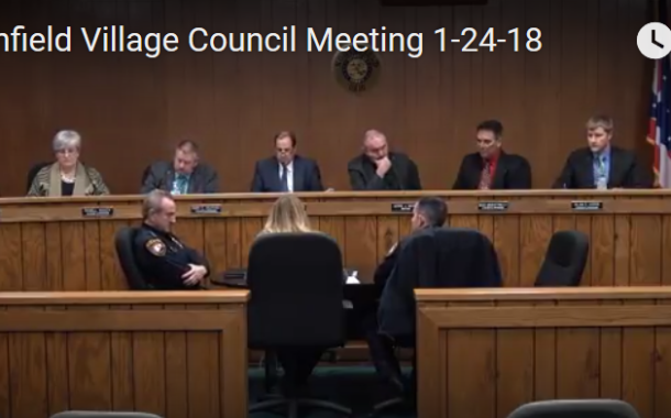 Northfield Village Council Meeting 1-24-18