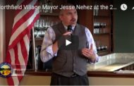 Northfield Village Mayor Jesse Nehez at the 2017 Annual State of the Communities