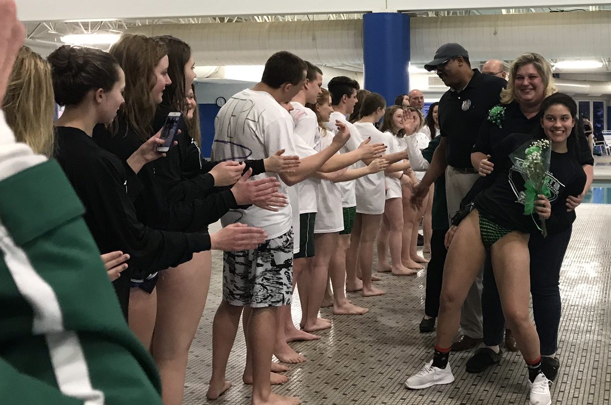 Nordonia High School Swim Meet - Senior Night 2018