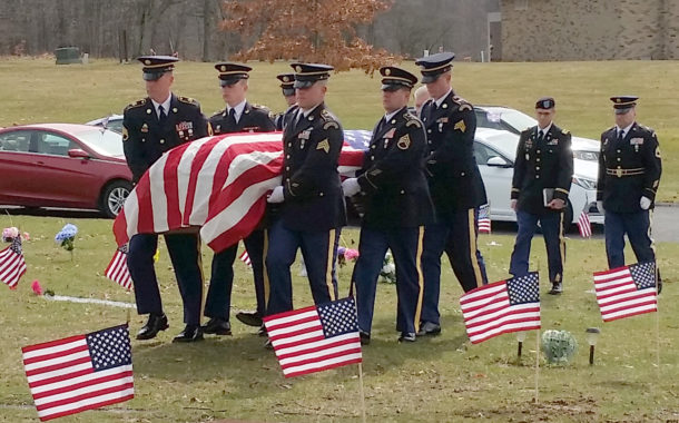 SFC Peter William Simon Funeral - Photos By Paul Buescher