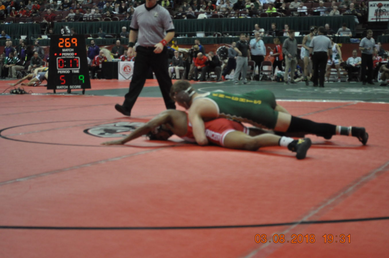 To Nordonia High School Junior Mitch Collica, wrestling is nothing new.  Wrestling at the state tournament, however, is.