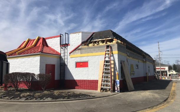 Northfield Village McDonald's Restoration Started Today
