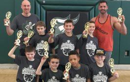 3rd Grade Nordonia Youth Basketball Champions