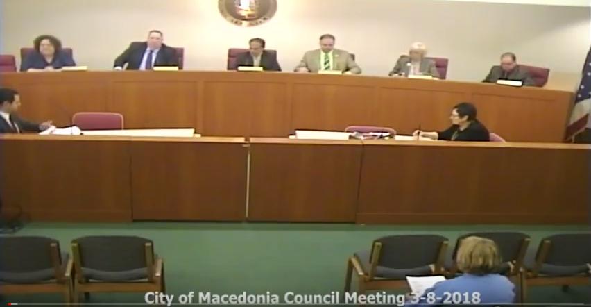 Vic's Corner: Macedonia Council Meeting Notes 3-8-18